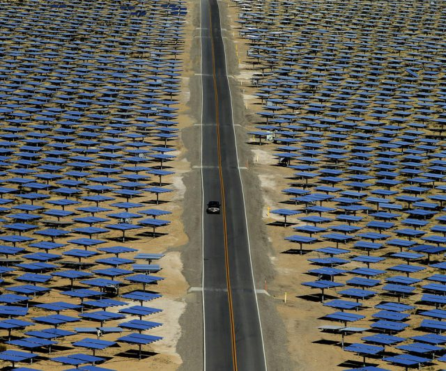 California invested heavily in solar power.